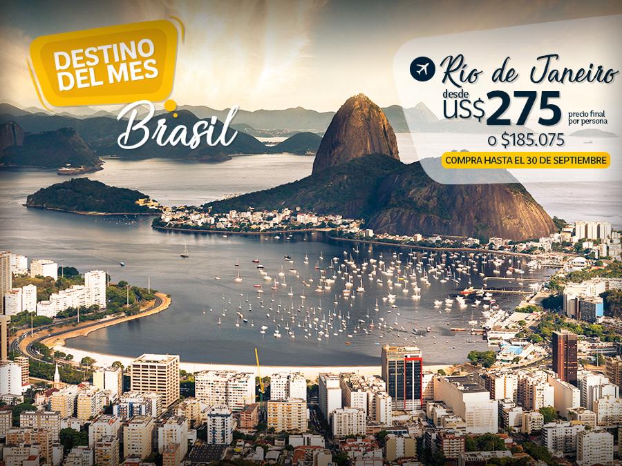 Destino del mes Brasil