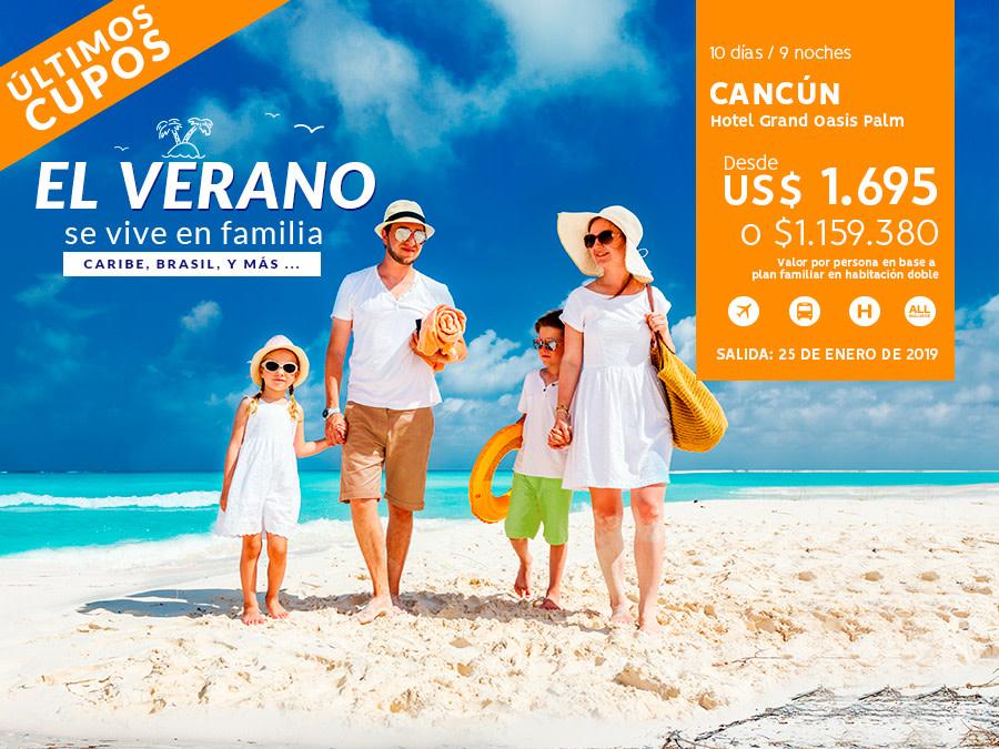 Banner Avance de Verano 2018 / cambio de gráfica / cambio de oferta / cambio de oferta