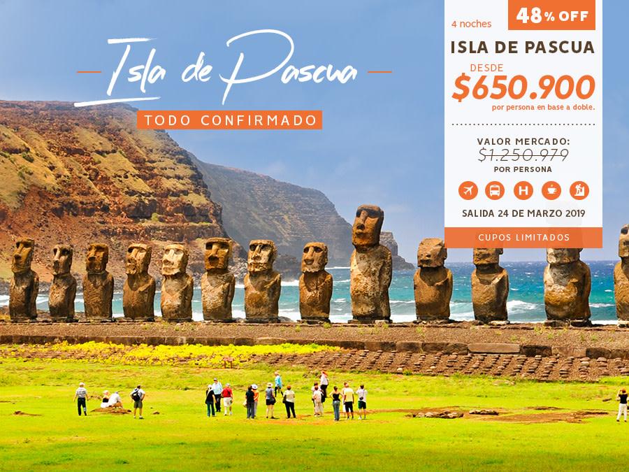 Banner Especial Isla de Pascua / cambio de tarifa