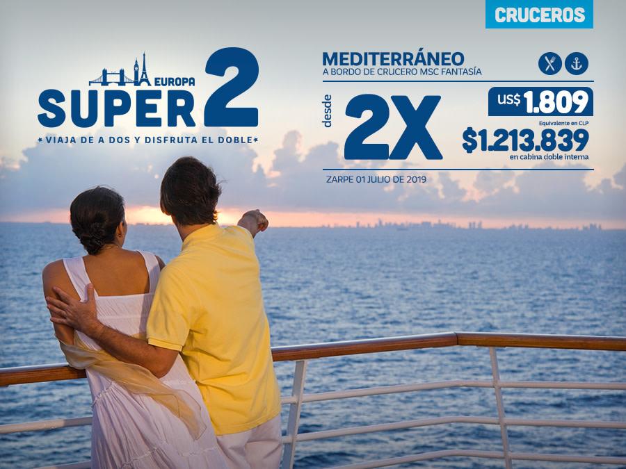 Banner Súper 2 Europa Cruceros