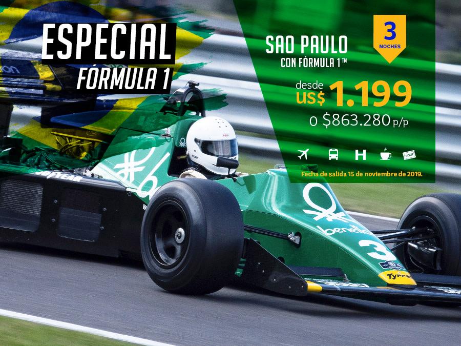 Banner Fórmula 1