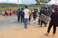 Police in Preah Sihanouk province...