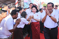 Samdech Techo Hun Sen will preside...