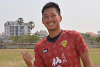 Goalkeeper Kota became the Man of the...
