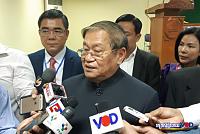 Mr. Khieu Kanharith threatened to...