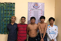 Narinjara Police arrest five...