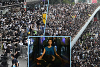 Hong Kong citizens rally to protest