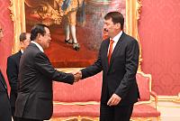 Samdech Techo Hun Sen thanks Hungary...