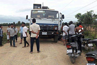 One dead car accident in Koh Andaet...