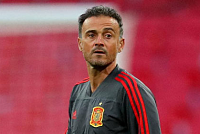 Enrique resigned from the Spanish...