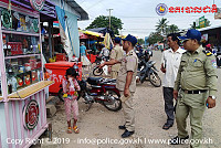 The district police chief of Kompong...