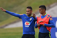 Speak to Marquinhos about one thing...