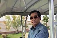 Samdech Techo Hun Sen inspects the...