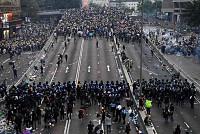 Nangang Demonstrators continue Hong...