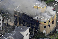 Fire kills one person and injures 35...