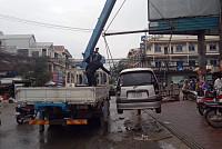 Authorities in Sihanoukville continue...