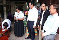 The Governor of Kampong Cham Provides...