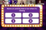 virtual game night word game