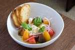 caprese salad with burrata   Classpop