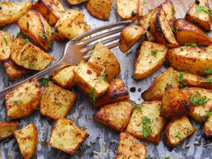grilled potatoes   Classpop