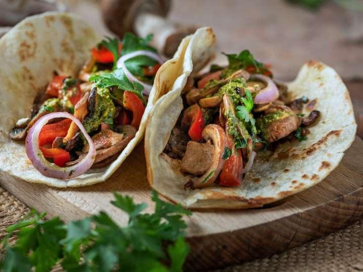 Margaritas and Vegan Taco Night
