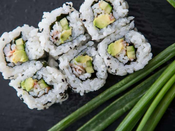 The Art of Rolling Sushi