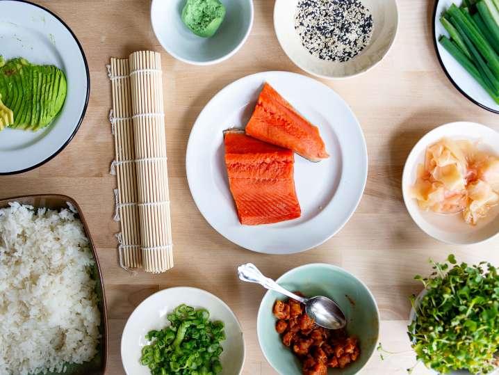 sushi ingredients | Classpop