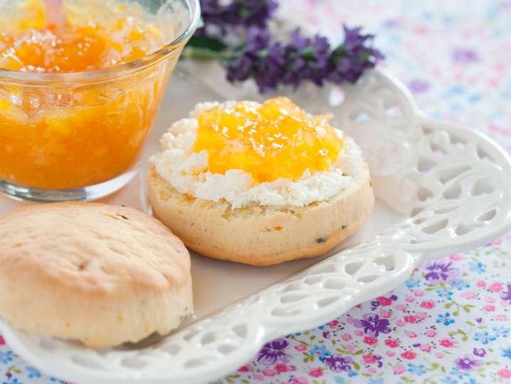 lemon lavender scones | Classpop