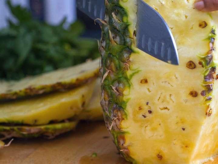 chopping pineapple   Classpop