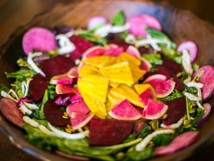beet and radish salad   Classpop