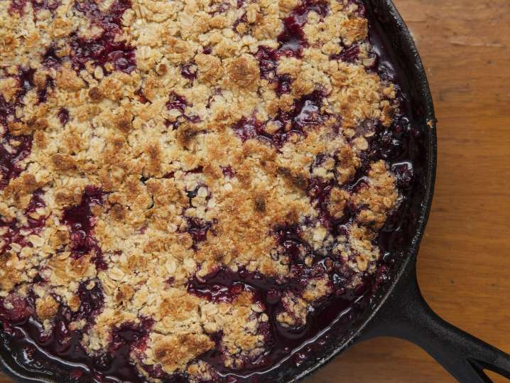 summer berry crumble | Classpop