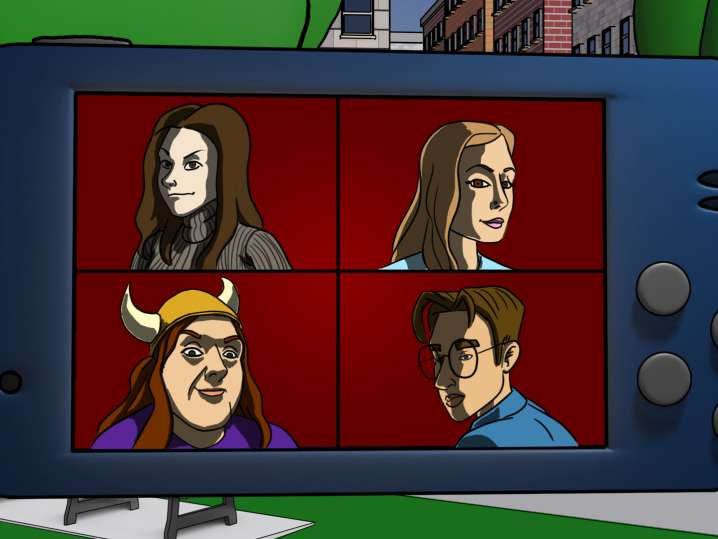 supervillian virtual escape room