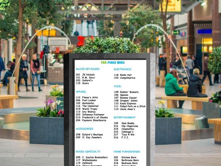 90s virtual escape room   mall directory