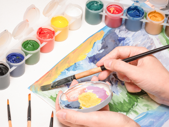 Creative Company Paint Night for Teams