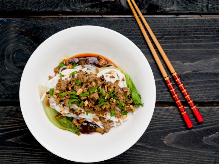 Classic Sichuan Dan Dan Noodles