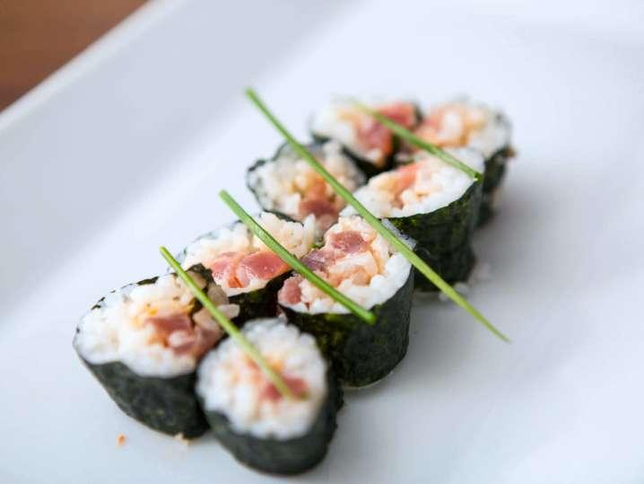 spicy tuna maki   Classpop