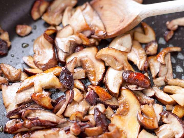 cooking mushrooms | Classpop