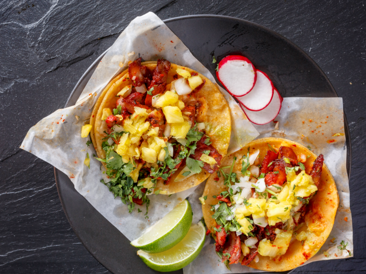 Tropical Mexican Street Food Fare