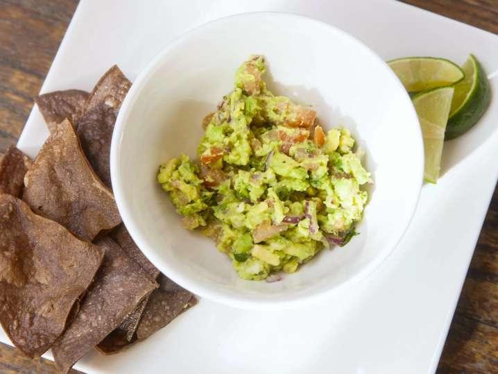 homemade guacamole with chips   Classpop