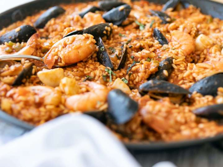 Homemade Seafood Paella
