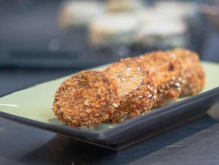 Japanese Eggplant Sandwiches | Classpop