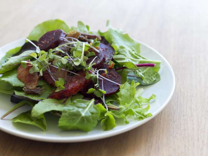 beet salad with blood orange