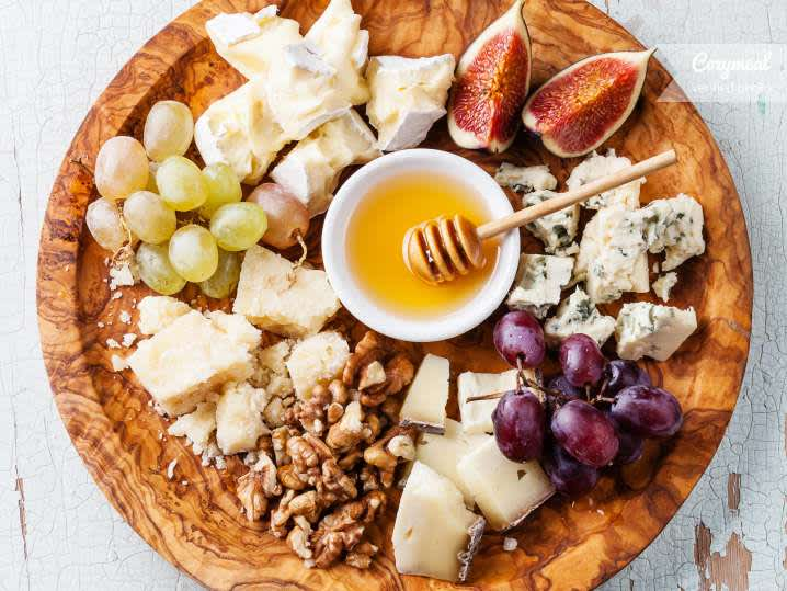 """Real Spanish chorizo con """"quicos"""" and selection of artisan cheese & olives 