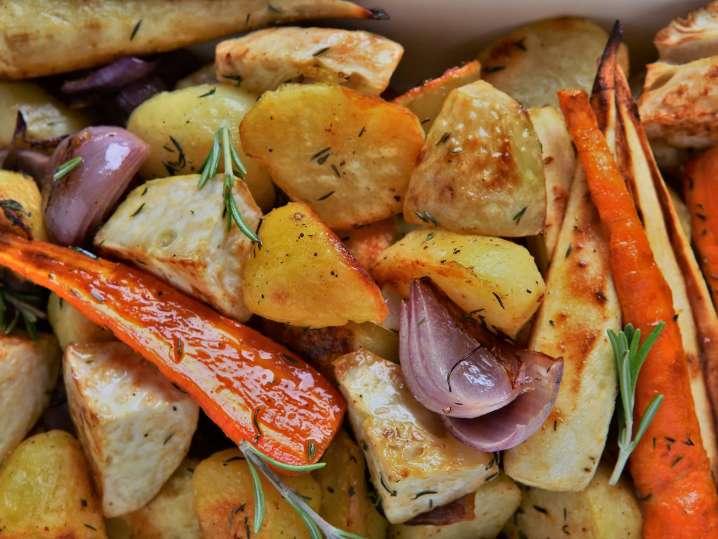 Roasted vegetables | Classpop