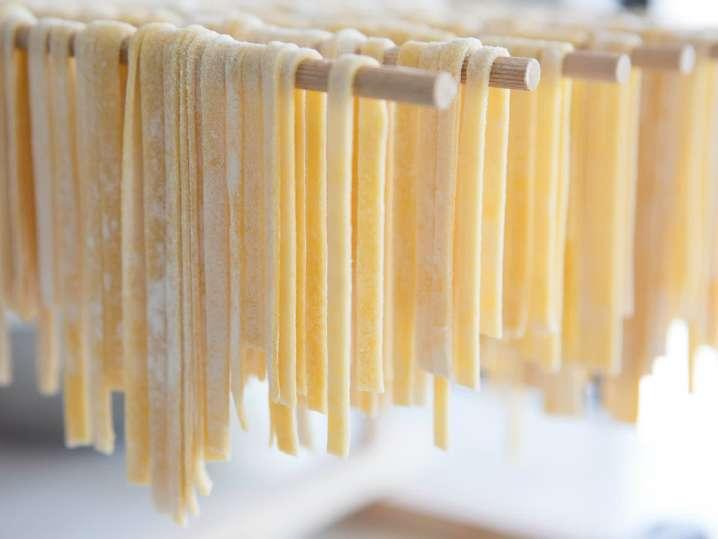 Homemade Italian Bread and Pasta