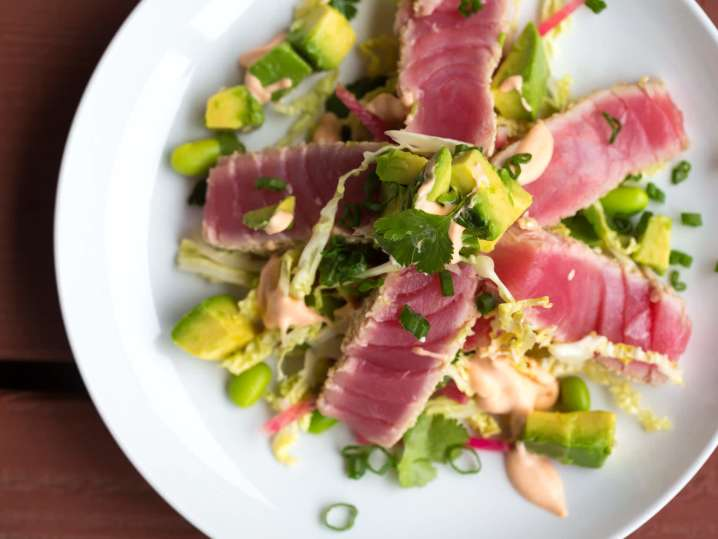 Spicy Yellowfin Tuna Salad | Classpop