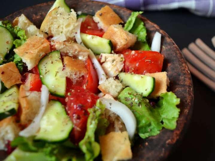 Mediterranean Panzanella Salad   Classpop