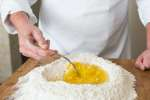 chef making pasta dough   Classpop