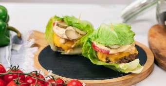 Lunch recipes: Lettuce Wrap Burger