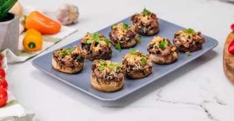 Side Dish recipes: Keto Stuffed Mushrooms